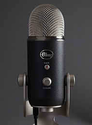 Blue Yeti Pro - Up Close - USB & XLR Microphone - www.AtlasProAudio.com