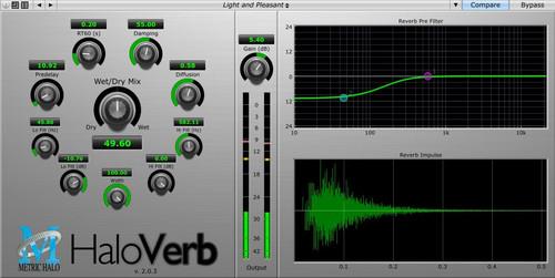 Metric Halo - HaloVerb - AtlasProAudio.com