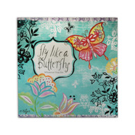 Fly Like A Butterfly Canvas Art