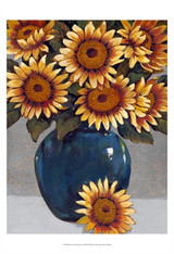 Vase of Sunflowers I