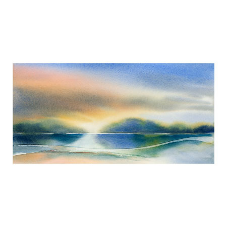 REFERENCE NO. TR29666-PCN TITLE Water Ways 2 ARTIST Julie Cohn  MEDIUM Giclee on Paper