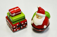 Santa and Presents Salt/Pepper Shakers
