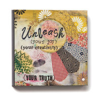 Unleash Your Your Joy and Creativity Wall Art