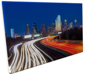 City Scape Gallery Wrapped Canvas  24 H x 36 W x 1.75  Horizontal