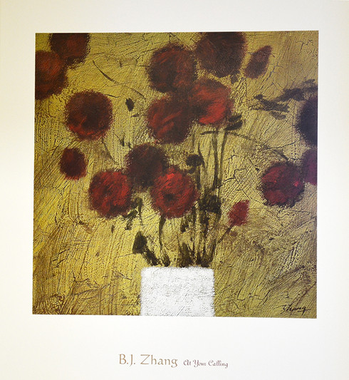 """D'Apres Nature  by B.J. Zhang  20""""W X 24""""H OD  Published by McGaw Group L.L.C"""