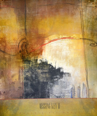 "Missing Key II  by Jen Hollack  27""W X 36""H OD"