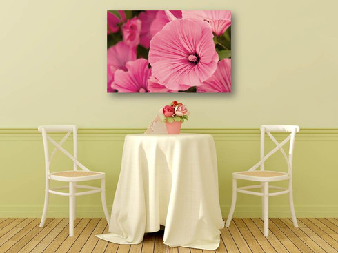 Hibiscus  30 x 42 OD  Gallery wrapped canvas