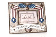 One Nation Under God Photo Frame
