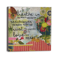 Breathe in Beauty Wall Art