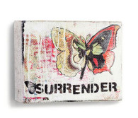 Surrender Linen Wall Art