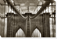 Brooklyn Cables  DALE MACMILLAN  26 x 38 Overall dimensions  gallery wrapped canvas