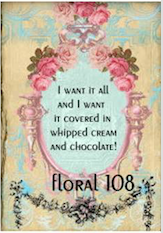 I want it all and I want it covered in whipped cream and chocolate!