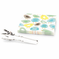 Chick Napkin & Bunny tongs set