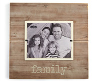 Deluxe pine photo frame  holds 8 x 10 photo - horizontal  17.5 x 18 OD