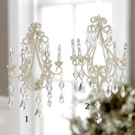"8"" CHANDELIER ORNAMENT"