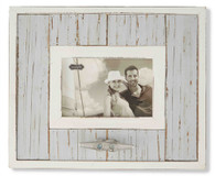 Gray Bordered Boat Cleat Frame