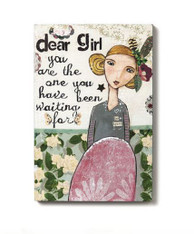 Dear Girl Wall Art