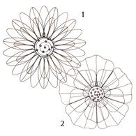 Wire Flower Wall Décor