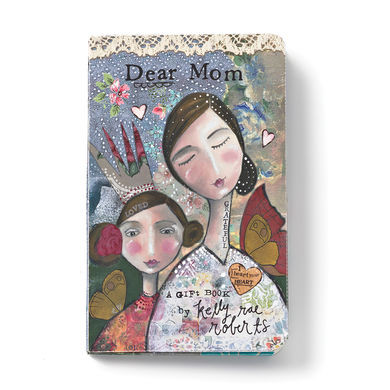 """Mothers gift book  Materials: paper Measurements: 4.5""""w x 7""""h Seasonality: Everyday"""