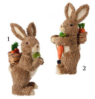 "11"" RABBIT WITH CARROTS"