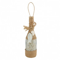 Bottle with Shells Décor
