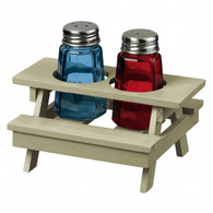 Picnic Table Salt & Pepper Shakers