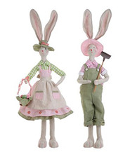 Boy and Girl Bunny