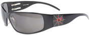 Tornado Spider Motorcycle Aluminum Sunglass with Gray Polarized lenses- Custom Engraving