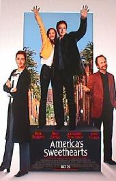 AMERICAS SWEETHEARTS original issue rolled double sided 1-sheet movie poster