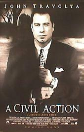 A CIVIL ACTION original issue rolled double sided 1-sheet movie poster