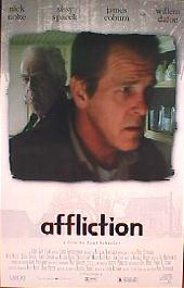 AFFLICTION original issue rolled Style B 1-sheet movie poster