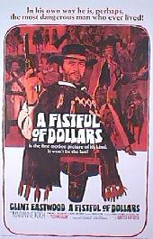 A FISTFUL OF DOLLARS original issue rolled International Reprint 1-sheet movie poster