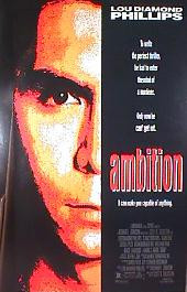 AMBITION original issue rolled 1-sheet movie poster
