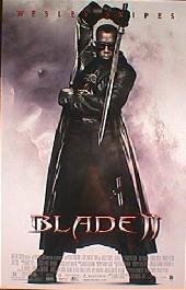 BLADE II original issue rolled 1-sheet movie poster