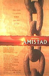 AMISTAD original issue rolled double sided Regular 1-sheet movie poster