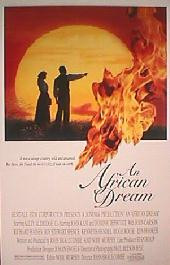 AN AFRICAN DREAM original issue rolled 1-sheet movie poster
