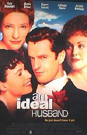 AN IDEAL HUSBAND original issue rolled 1-sheet movie poster