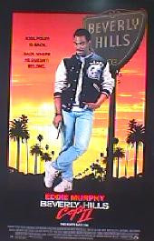 BEVERLY HILL COP II original issue rolled 1-sheet movie poster