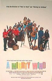 A MIGHTY WIND original issue rolled double sided 1-sheet movie poster