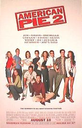 AMERICAN PIE 2 original issue rolled 1-sheet movie poster