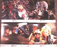 INDIANA JONES, TEMPLE OF DOOM original issue 8x10 lobby card set
