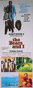 BEARS AND I,THE original issue 14x36 rolled movie poster