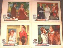 MILLIONAIRESS,THE original issue 11x14 lobby card set