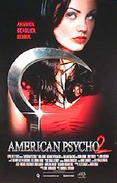 AMERICAN PSYCO 2 original issue rolled 1-sheet DVD movie poster