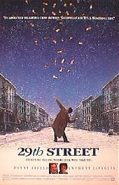 29TH STREET original issue rolled double sided 1-sheet movie poster