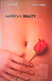 AMERICAN BEAUTY original issue rolled double sided regular 1-sheet movie poster
