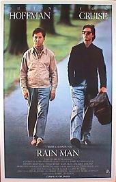 RAINMAN original issue rolled 1-sheet movie poster