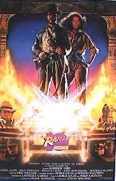 RAIDERS OF THE LOST ARK original issue rolled 10th anniversary 1-sheet movie poster