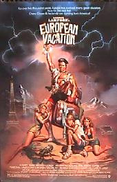 NATIONAL LAMPOON'S EUROPEAN VACATION original issue 1-sheet movie poster