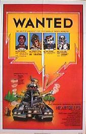HEARTBEEPS original issue folded 1-sheet movie poster